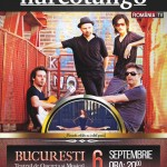 Afiș Narcotango Concert Bucuresti 2015