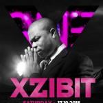 Afiș XZibit concert Club One 2015