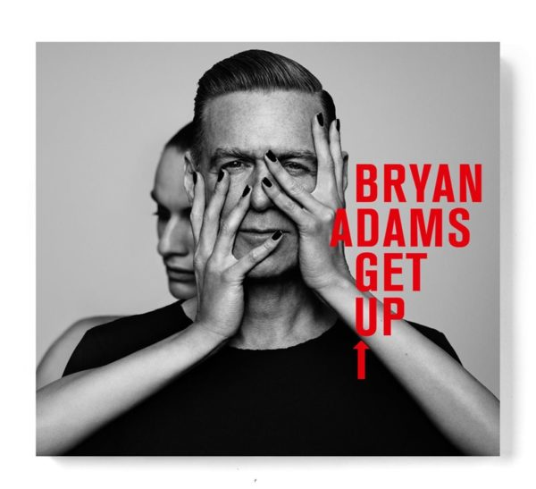 "Bryan Adams - ""Get Up!"" (copertă album)"