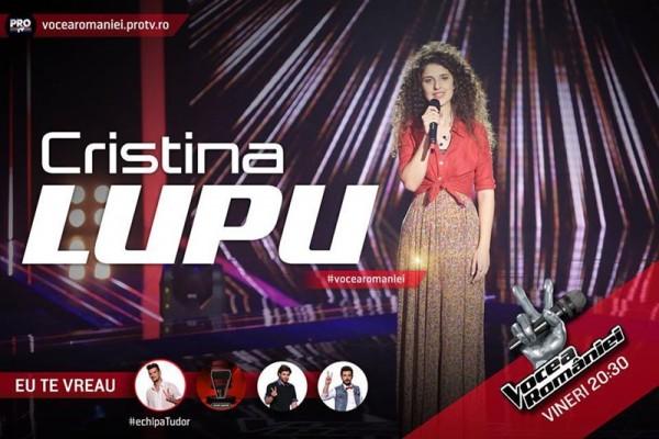Cristina Lupu, Vocea României 2015
