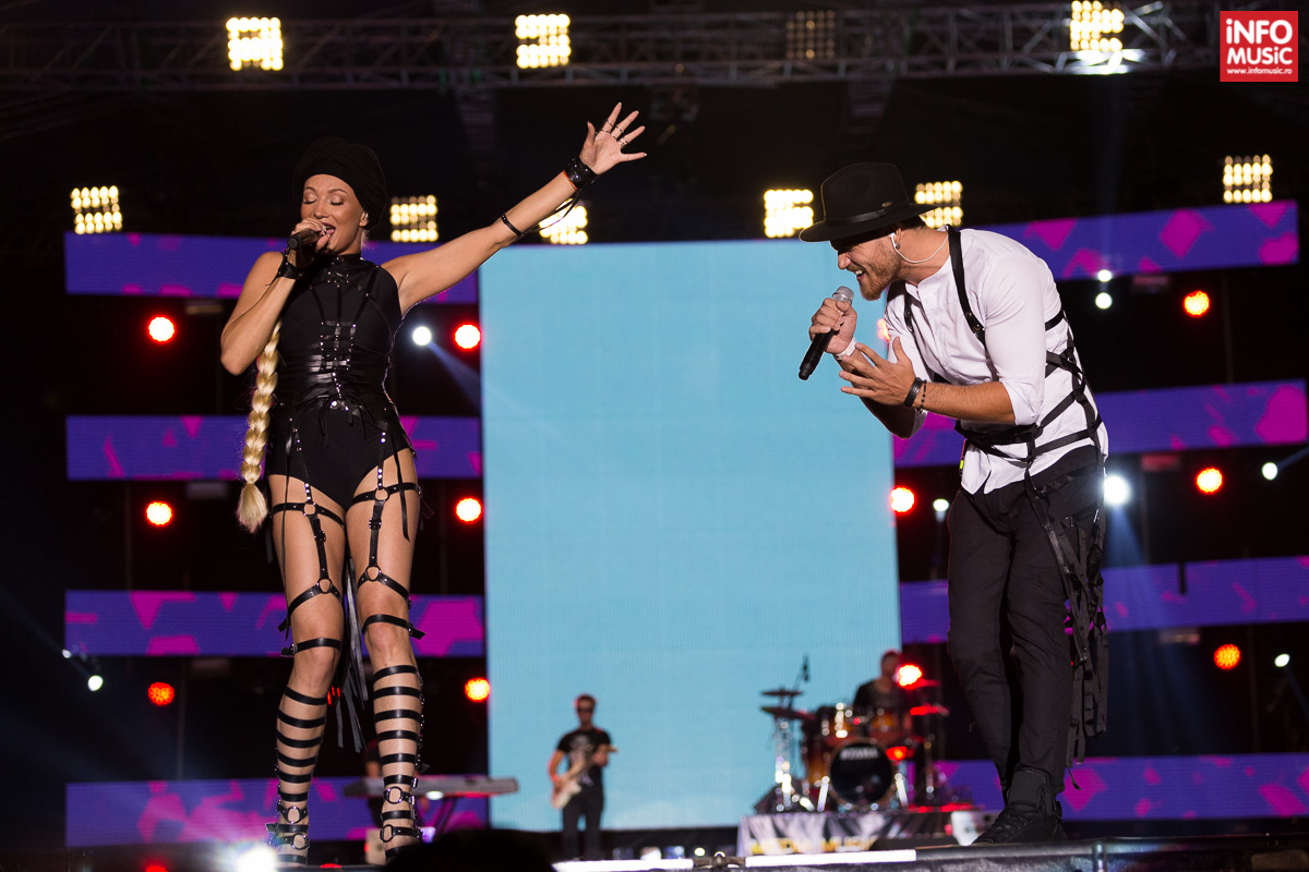 Lora și Peter Pop în concert la Media Music Awards 2015
