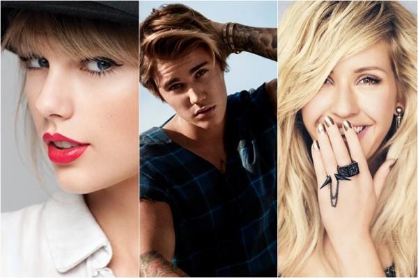 Taylor Swift / Justin Bieber / Ellie Goulding