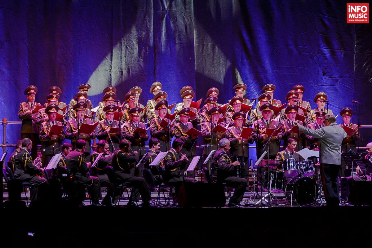 The Red Army Choir – Corul Armatei Roșii la Sala Polivalentă din Cluj-Napoca pe 21 septembrie 2015