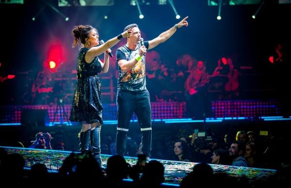 Cornel Ilie şi Paula Seling la Sala Polivalentă 2015