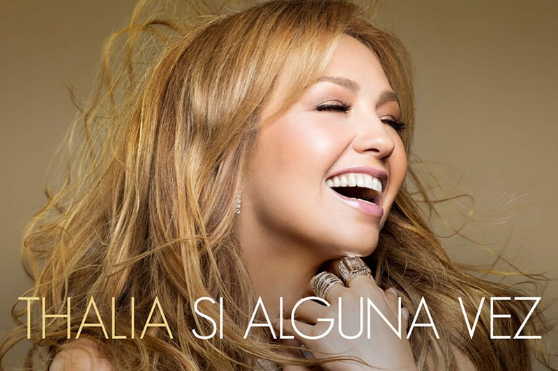 Thalía - Si Alguna Vez (single artwork)