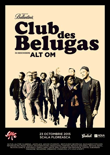 CLUB DES BELUGAS LIVE BAND