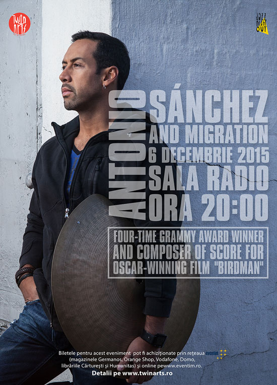 Antonio Sanchez & Migration la Sala Radio