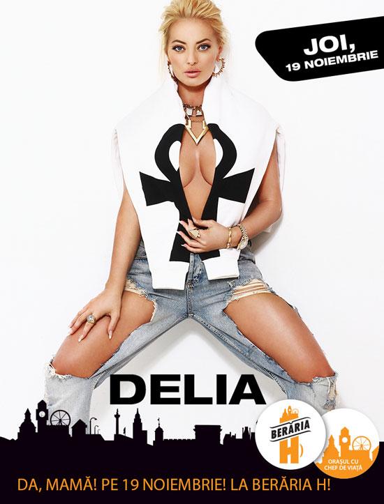Afiș Delia Concert Berăria H 2015
