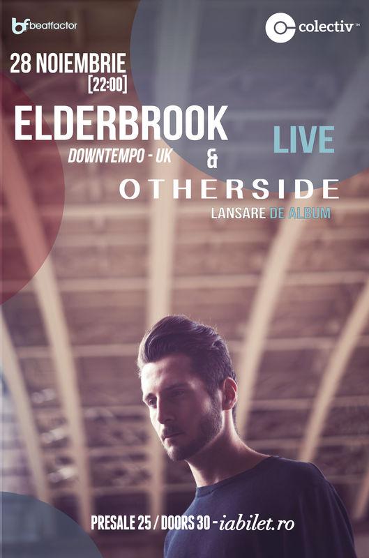 Afiş Concert Elderbook si Otherside in Colectiv