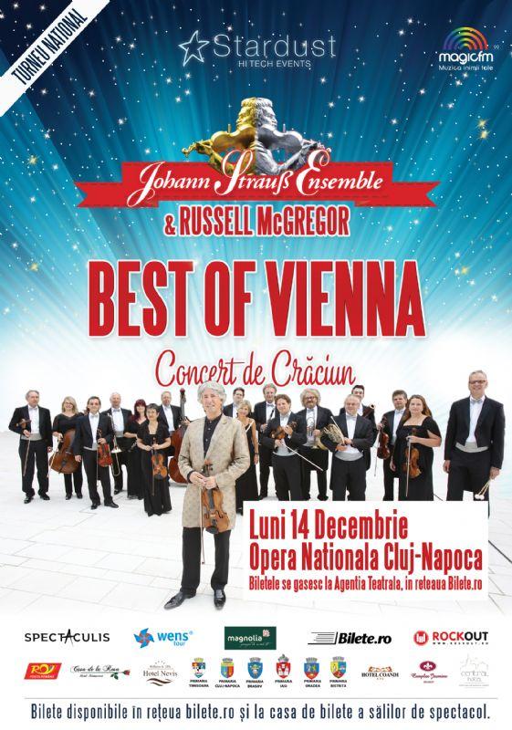 Afiş Johann Strauss Ensemble la Cluj Napoca 2015