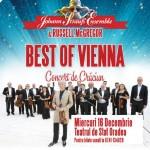Afiş Johann Straus Ensemble la Oradea 2015