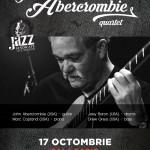 Afiș John Abercrombie Quartet Concert Sala Radio 2015