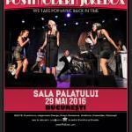 Afis Postmodern Jukebox Concert Sala Palatului 2016