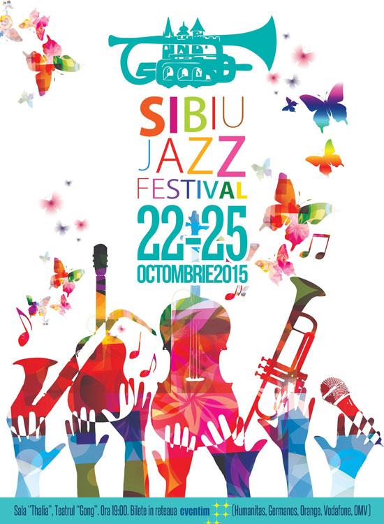 Afiș Sibiu Jazz Festival 2015