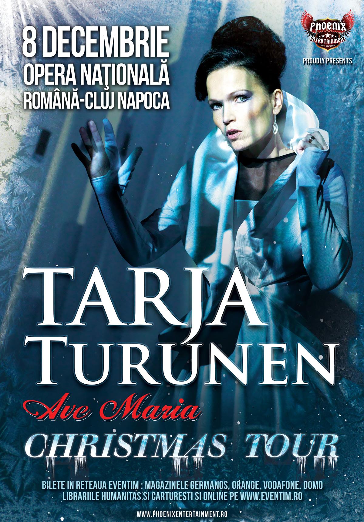 Afiș Concert Tarja Turunen Cluj Napoca 2015