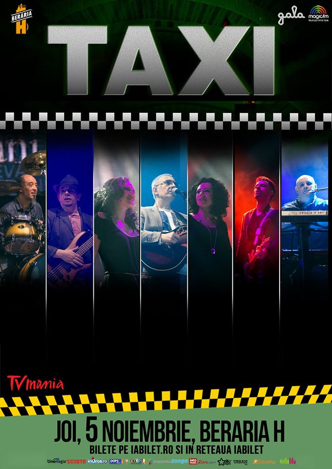 Afiș Taxi Concert Beraria H 2015