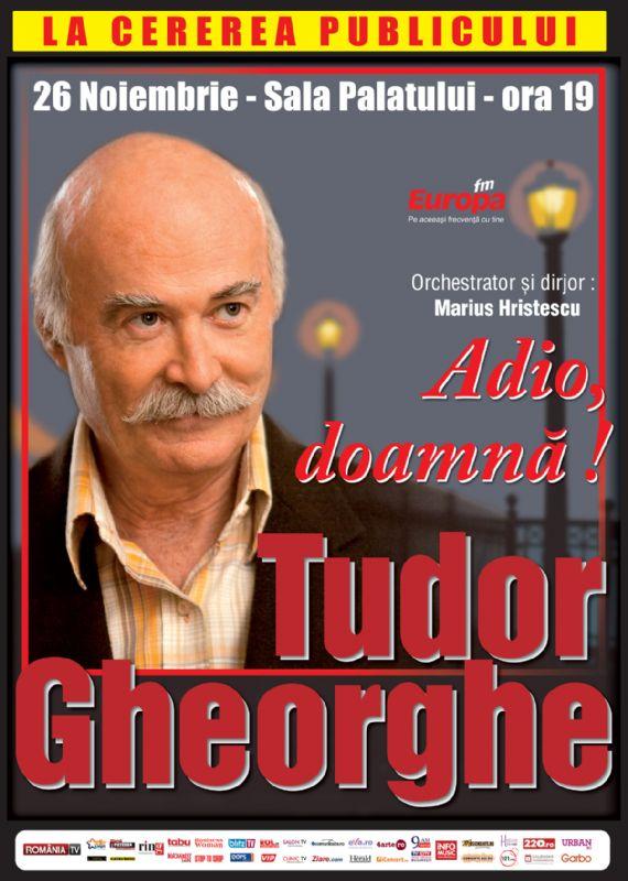 Tudor Gheorghe - Adio, doamnă!