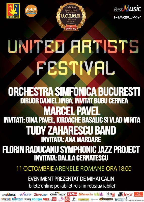 Afiș United Artists Festival 4 2015