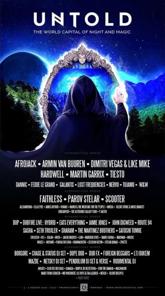 Afiș Untold Festival 2016