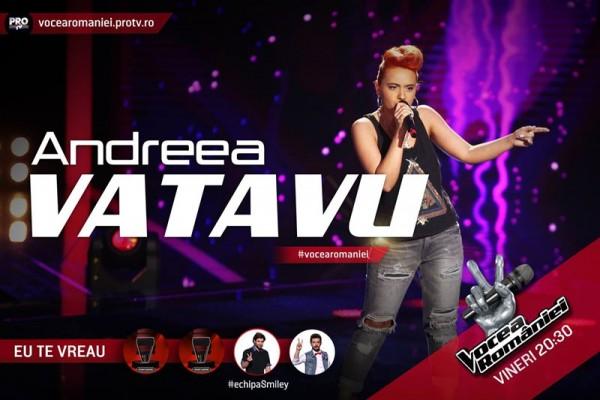 Andreea Vatavu, Vocea României 2015