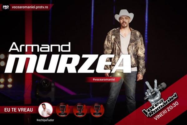 Armand Murzea, Vocea României 2015