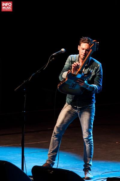 Concert Dan Patlansky în deschidere pentru Joe Satriani la București pe 12 octombrie 2015