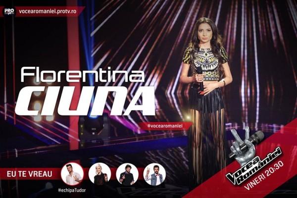 Forentina Ciuna, Vocea României 2015