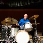 Joey Baron în concert John Abercrombie Quartet la Sala Radio pe 17 octombrie 2015