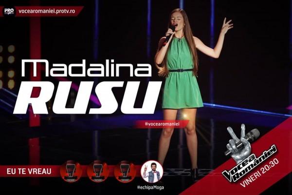 Mădălina Rusu, Vocea României 2015