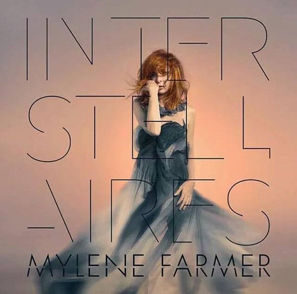 "Mylene Farmer - ""Interstellaires"" (copertă album)"