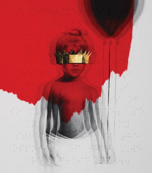 Rihanna - Anti (copertă album)