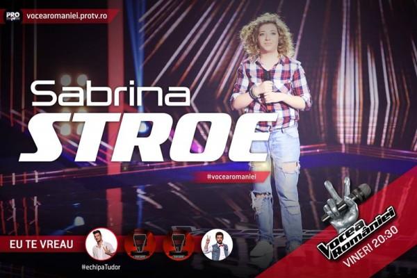 Sabrina Stroe, Vocea României 2015
