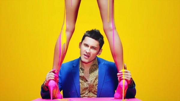 Secvență din videoclipul lui Dan Bălan - Funny Love