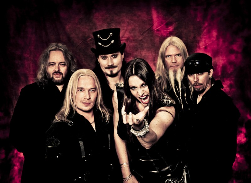 Nightwish 2012 - Session with Troy and Floor