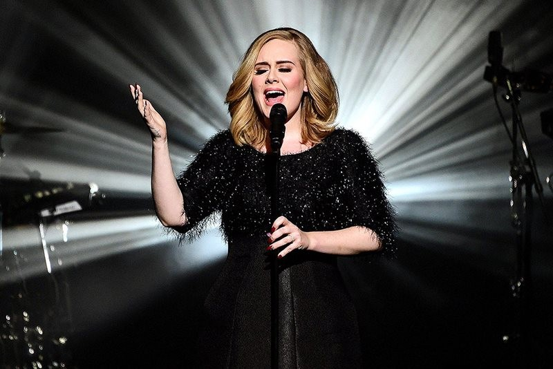 Adele, live la NRJ Awards