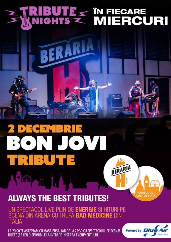 Bon Jovi Tribute la Berăria H