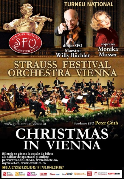 Poster eveniment Christmas in Vienna