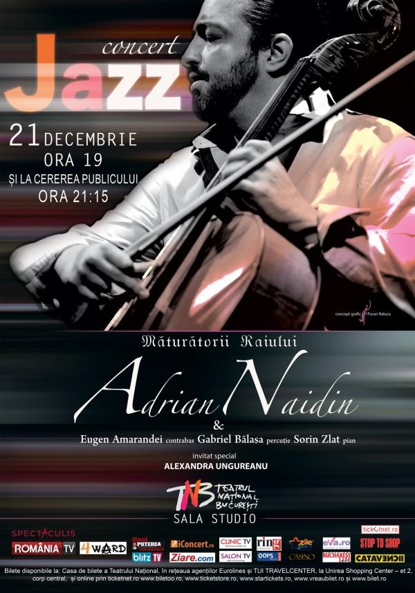 Concert de Colinde cu Adrian Naidin la TNB, 2015