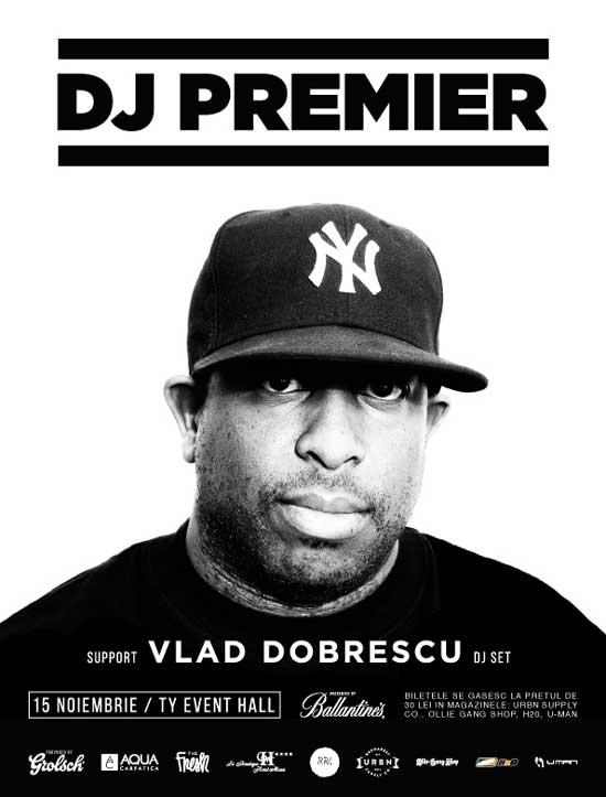 Afiş DJ Premier Concert TY Event Hall 2015