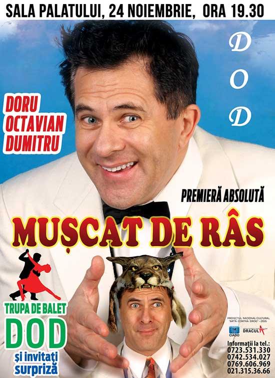Afiș Spectacol Doru Octavian Dumitru 2015