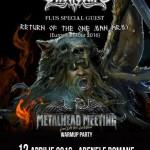 Afiş Ensiferum Concert Arenele Romane 2016