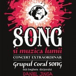 Afiș Grupul Coral Song Concert Sala Radio 2015