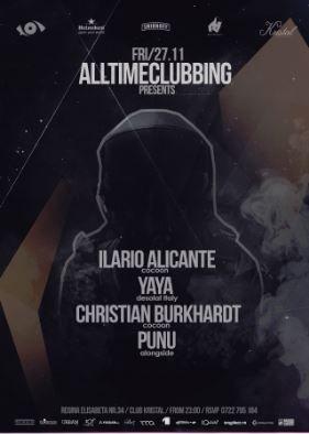 Ilario Alicante, Yaya, Christian Burkhardt & Punu la Kristal Club
