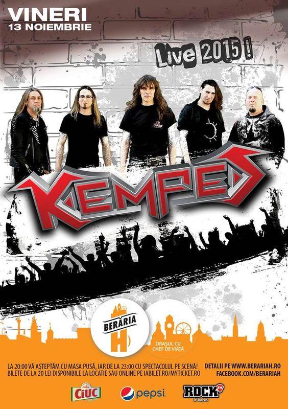 Afiș Kempes Concert Berăria H 2015