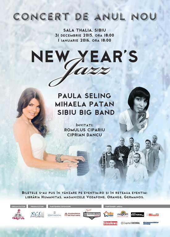New Year's Jazz la Sala Thalia