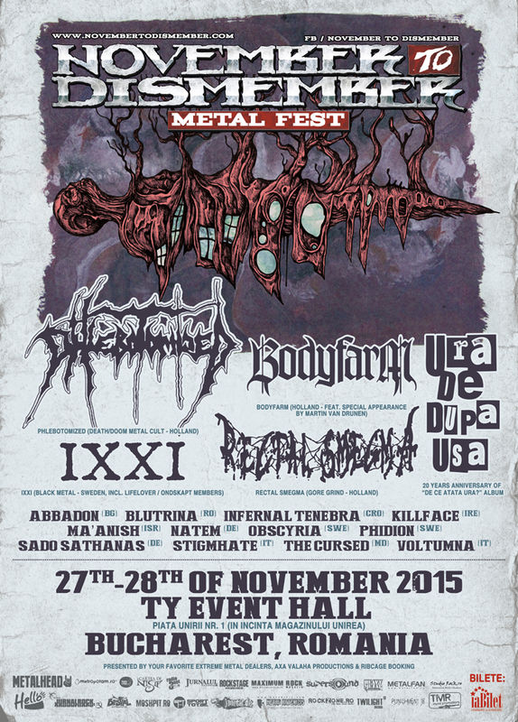 ANULAT - November to Dismember Metal Fest 2015