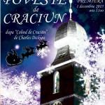Afiș Poveste de Crăciun la Teatrul Coquette 2015