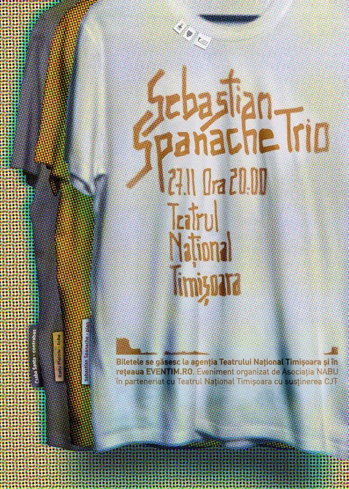 Sebastian Spanache Trio la Teatrul Național Timișoara