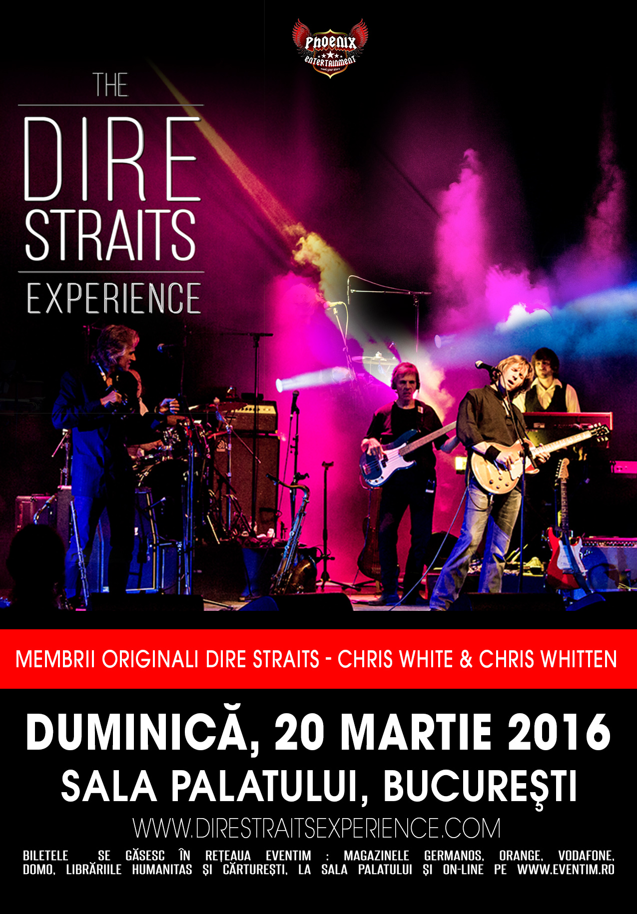 Afiș The Dire Straits Experience Concert 2016