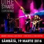 Afiș Concert The Dire Straits Experience Timișoara 2016